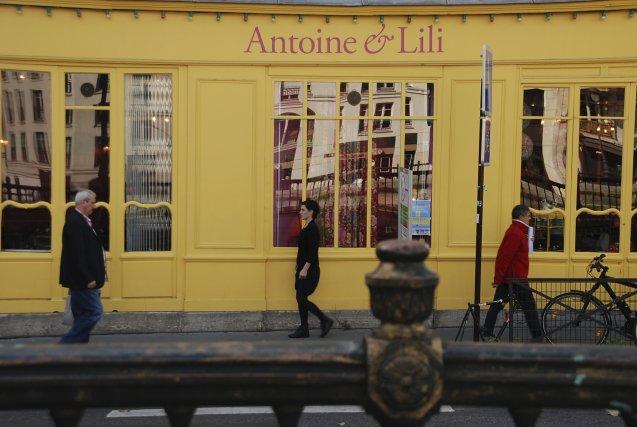 Les trois boutiques Antoine et Lili se trouvent... (Photo: Nathaëlle Morissette, La Presse)
