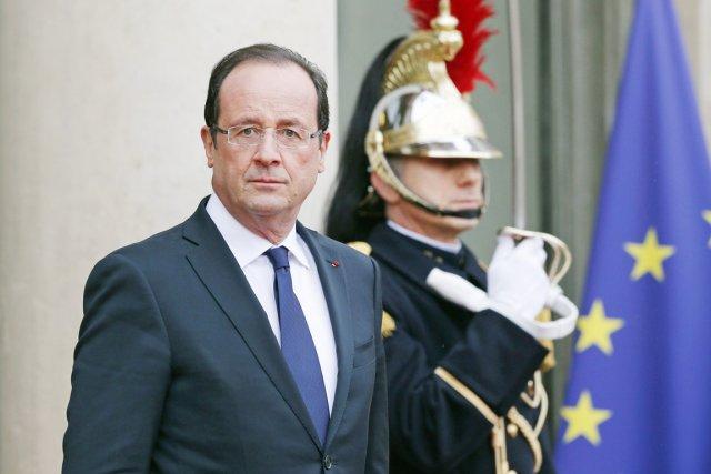 Le président français François Hollande.... (PHOTO BENOIT TESSIER, REUTERS)