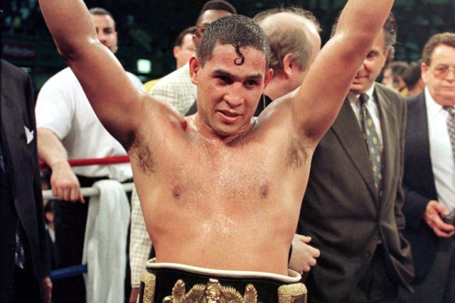 L'ancien champion boxeur Hector «Macho» Camacho a été... (Photo: Reuters)