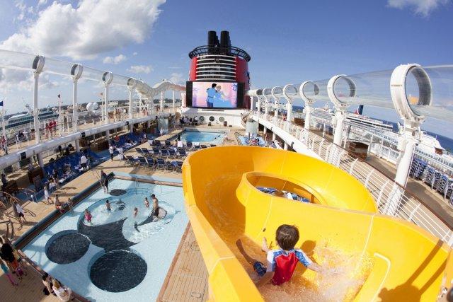 Les bateaux de croisière offrent de nombreuses activités... (Photo fournie par Croisière Disney Dream)