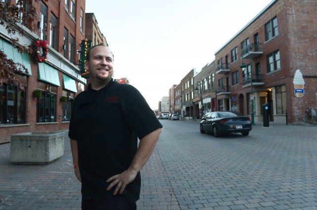 Jason Kacprzak fréquentait la rue Wellington Sud du... (Imacom René Marquis)