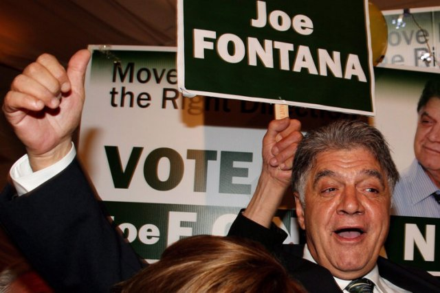 Joe Fontana lors de son élection à la... (Photo: PC)