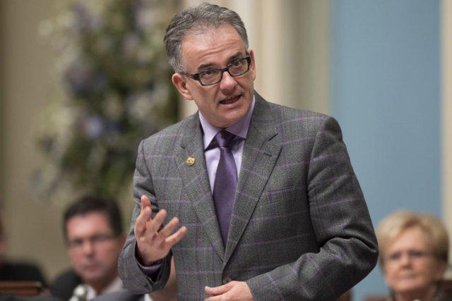 Le ministre de la Santé, Réjean Hébert.... (Photo: PC)