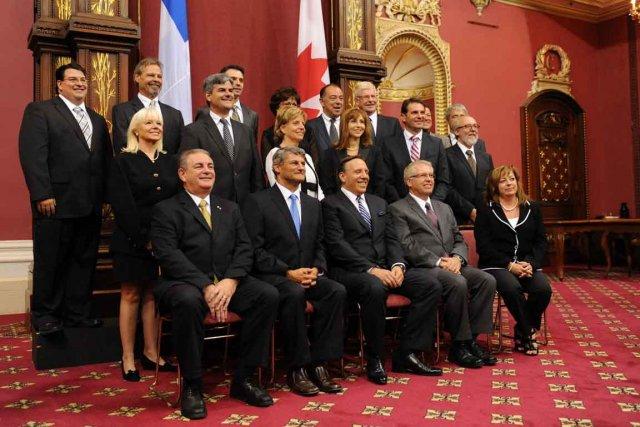 Le chef de la Coalition avenir Québec, François... (Photothèque Le Soleil, Steve Deschênes)