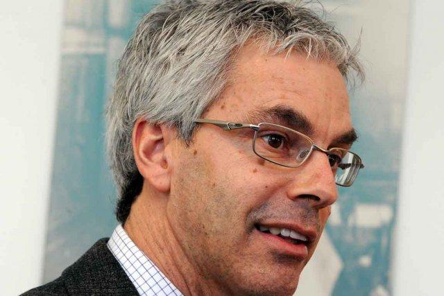 François Picard,conseiller municipal responsable du dossier de l'amphithéâtre... (Photothèque Le Soleil, Erick Labbé)