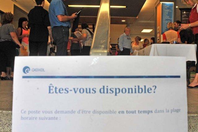 Le centre d'appels devrait créer entre 150 et... (Photo: Stéphane Lessard)