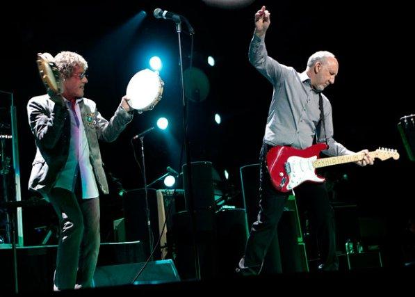 Roger Daltrey et Peter Townshend, du légendaire groupe... (Étienne Ranger, LeDroit)