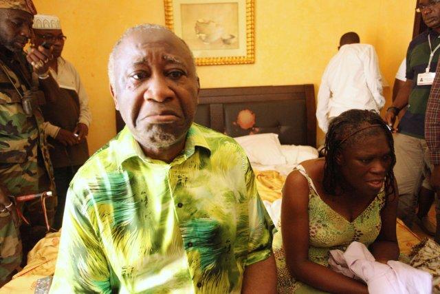 Simone Gbagbo, 63 ans, est soupçonnée de meurtres,... (PHOTO ARCHIVES REUTERS)