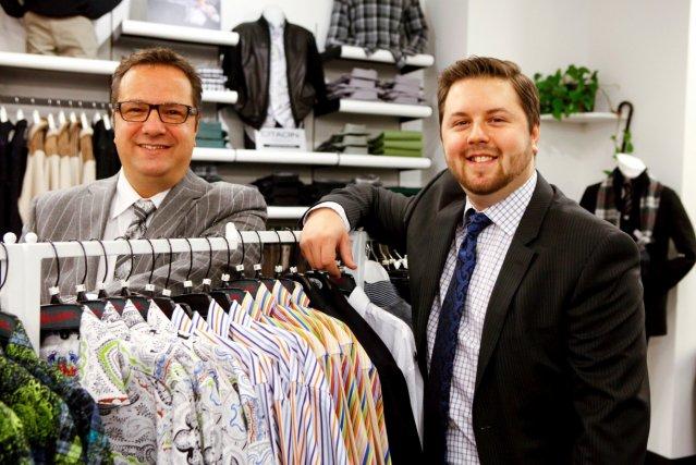 Le propriétaire de Belini, Marc Tendland, et son... (Le Soleil, Caroline Grégoire)