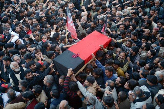 Les attentats de Karachi et Rawalpindi visaient la... (PHOTO FAROOQ NAEEM, AFP)