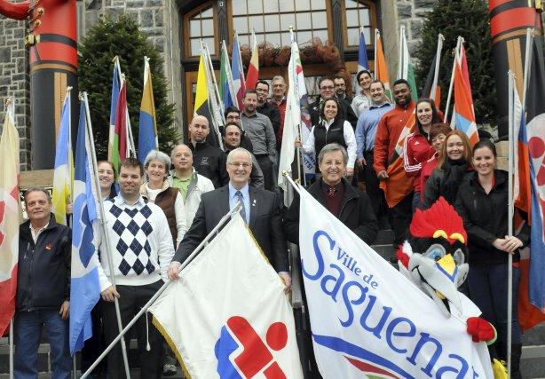 Le séjour à Saguenay des chefs des 19... (Photo Rocket Lavoie)