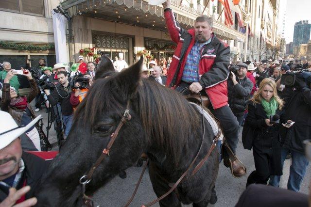 Marty a ouvert les festivités à Toronto où... (Photo: PC)