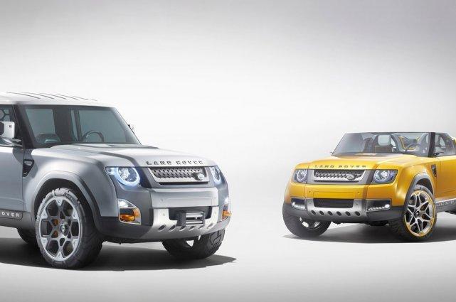 Les prototypes DC100 pourraient servir de base à... (Photo fournie par Land Rover)