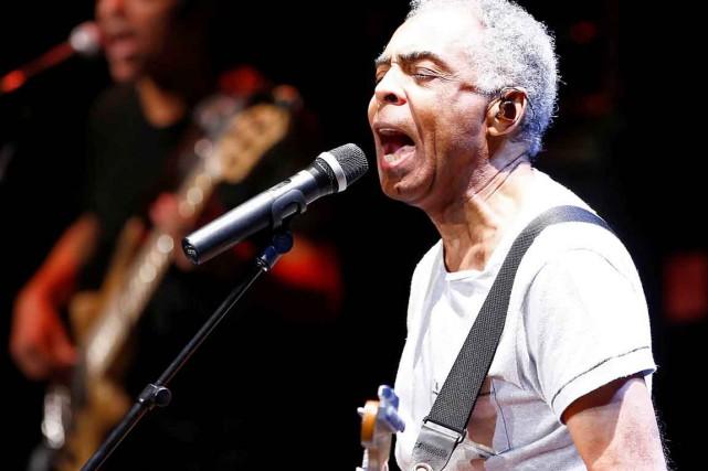 Gilberto Gil a opté pour un mélange de... (Le Soleil, Yan Doublet)