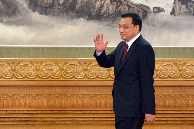Le futur premier ministre chinois, Li Keqiang.... (Photo AFP)