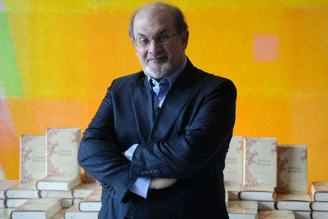 Salman Rushdie... (Photo: AFP)
