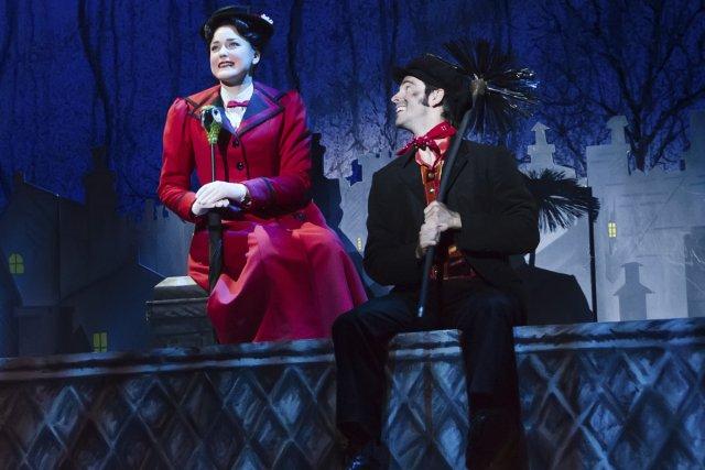 Mary Poppins reste un spectacle à l'ancienne, dépositaire... (Photo: La Presse)