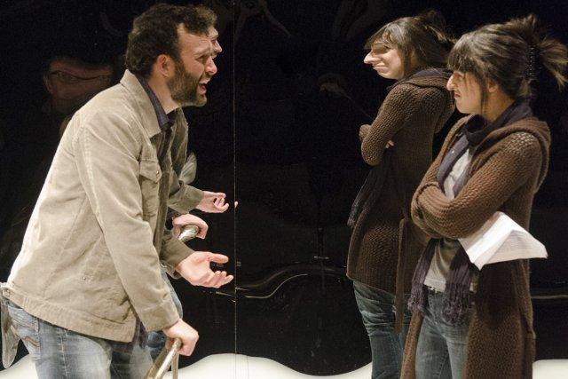Mathieu Quesnel et Anne-Élisabeth Bossé dans L'obsession de... (Photo: fournie par PL2 Studio)
