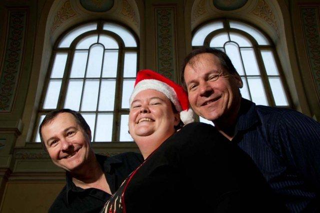 Raymond Perrin, Julie Dumont et Jean-François Aubin invitent... (Photo: Sylvain Mayer)
