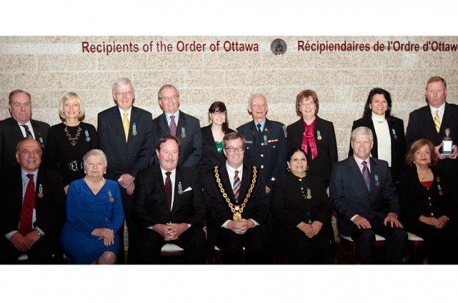 Quinze citoyens ont reçu l'Ordre d'Ottawa.... (Étienne Ranger, LeDroit)