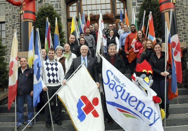Les représentants des 19 délégations qui participeront à... (Photo Rocket Lavoie)