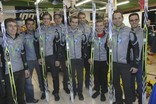 Pour cette première cohorte, l'équipe senior réunit onze... (Photo Michel Tremblay)