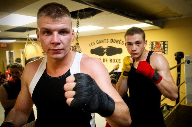 Danyk Croteau et Dérec Bouchard espèrent remporter la... (Patrick Woodbury, LeDroit)