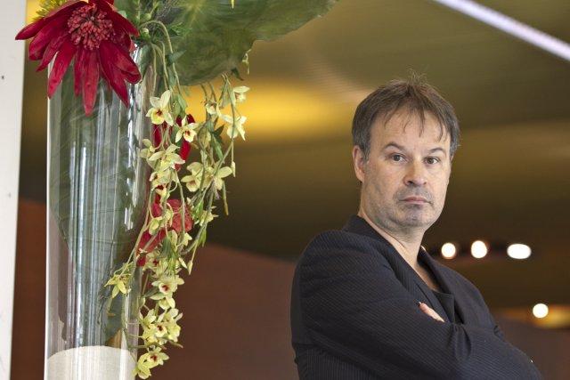 Le philosophe et écrivain Emmanuel Jaffelin... (Photo: Hugo-Sébastien Aubert, La Presse)