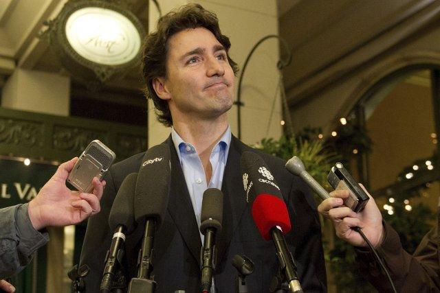 Justin Trudeau a été pressé de questions à... (Photo : La Presse Canadienne)