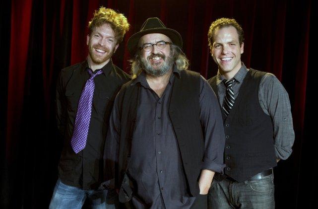 Trio d'Yves Lambert, avec Olivier Rondeau à gauche... (Photo: Robert Skinner, La Presse)