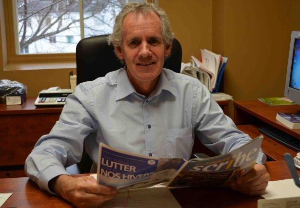 Le directeur de la ville d'Alma, Guy Simard,... ((Photo Marc St-Hilaire))