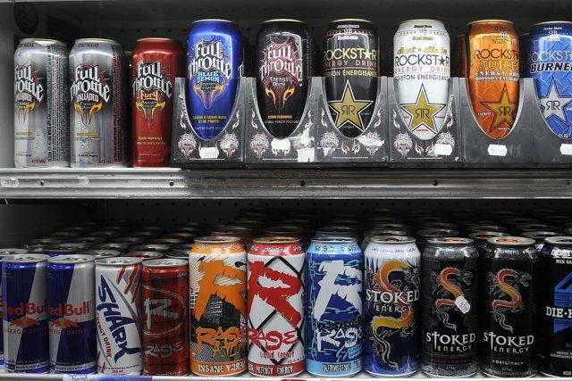 Des boissons énergisantes, vendues dans un dépanneur.... (Photo: Bernard Brault, archives La Presse)