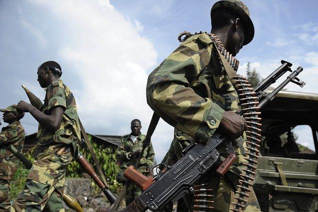 Des rebelles du M23.... (Photo: AFP)