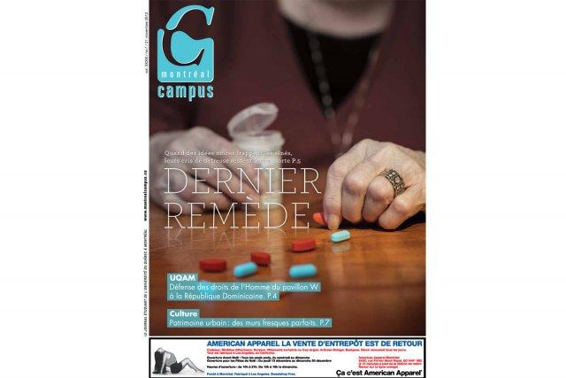 Le dernier numéro du Montréal Campus...