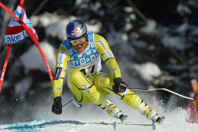 Le Norvégien Aksel Lund Svindal a été supérieur... (Photo: AFP)