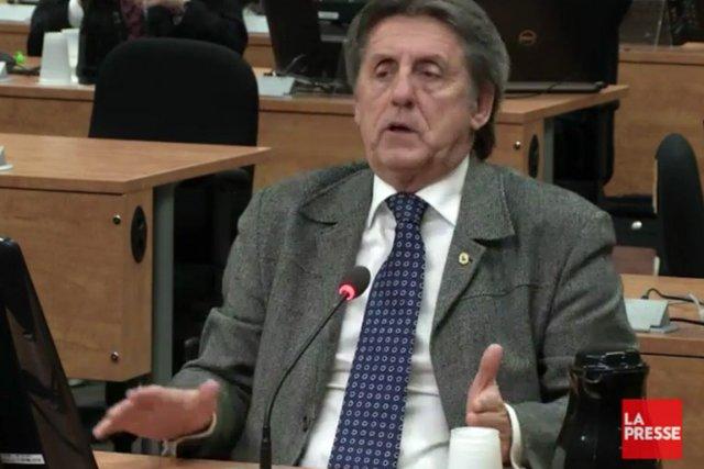 Michel Cadotte... (Photo: tirée d'une vidéo)