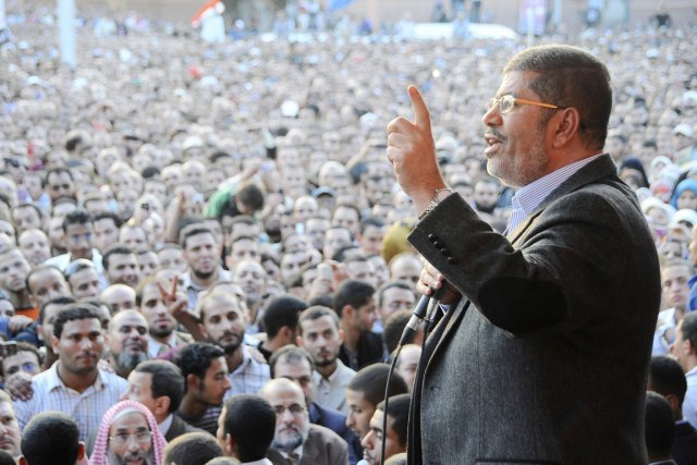 Morsi: un «Lincoln déguisé», un autre Moubarak ou... (PHOTO AP/PRÉSIDENCE ÉGYPTIENNE)