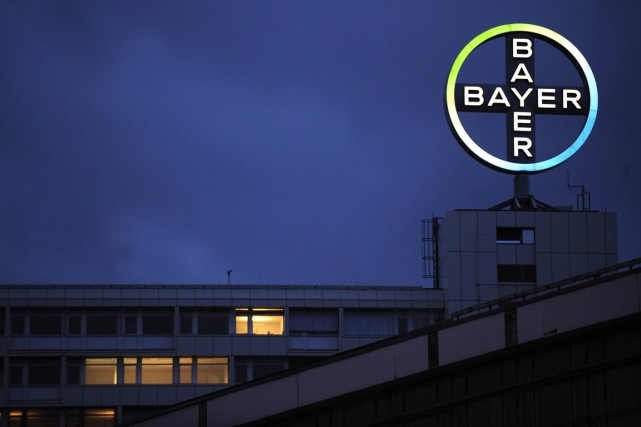 Le siège social de Bayer à Berlin.... (Photo archives Agence France-Presse)