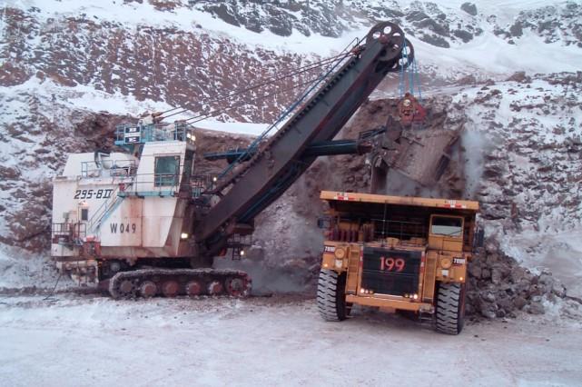Mine du Mont Wright... (Photo fournie par ArcelorMittal Mines Canada)