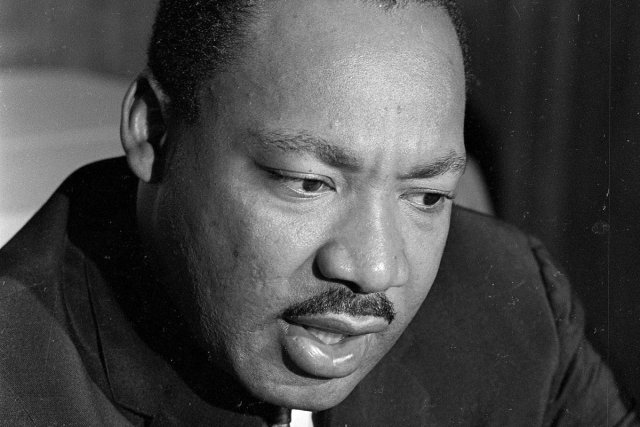 Martin Luther King... (Photo: archives AP)