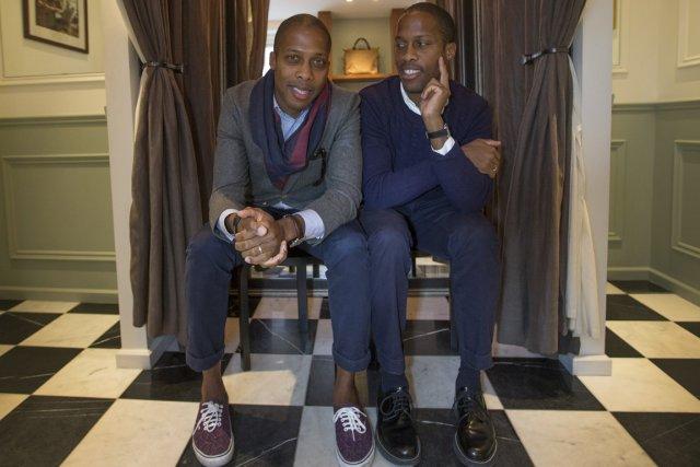 Dexter et Byron Peart... (Photo: Ivanoh Demers, La Presse)
