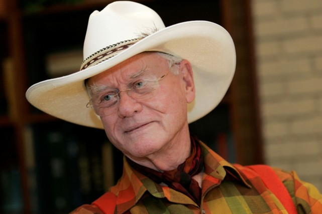 Larry Hagman en 2008.... (Photo: archives AP)