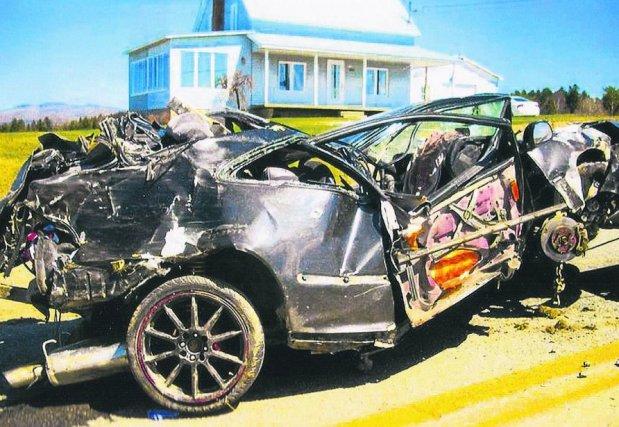 accident mortel est survenu sur la route 257... (Archives La Tribune)