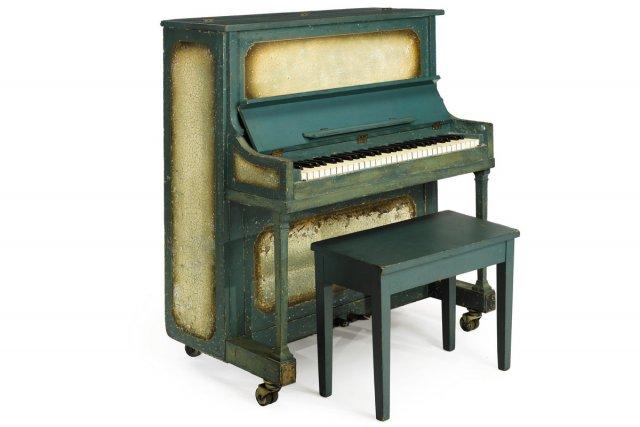 Le piano utilisé pour la pièce As Times Goes By dans le classique du cinéma de... (Photo: AP)
