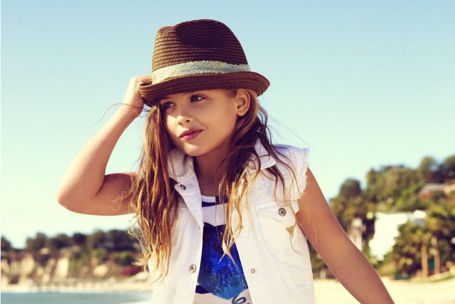 À six ans, Dannielynn Birkhead, la fille d'Anna... (PHOTO FOURNIE PAR GUESS)