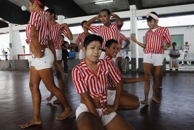 Des détenus d'une prison de Bangkok ont offert... (Photo: Reuters)
