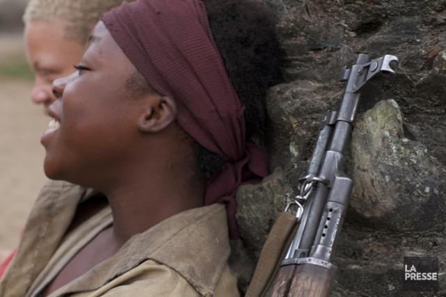 Rachel Mwanza dans une scène de «Rebelle».... (Métropole Films)