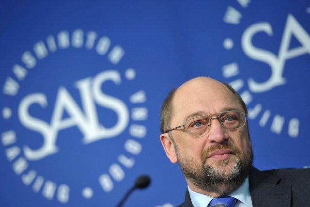 Martin Schulz, président du Parlement européen.... (Photo AFP)