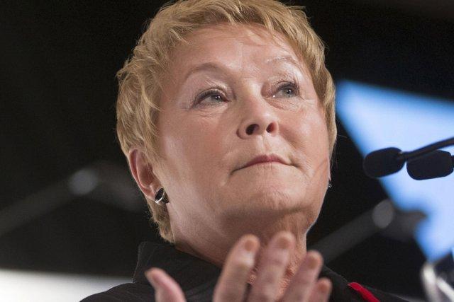 La première ministre du Québec, Pauline Marois... (photo La Presse)