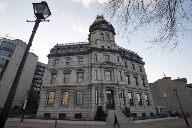 Le club privé 357c, occupe un immeuble historique... (Photo Robert Skinner, La Presse)